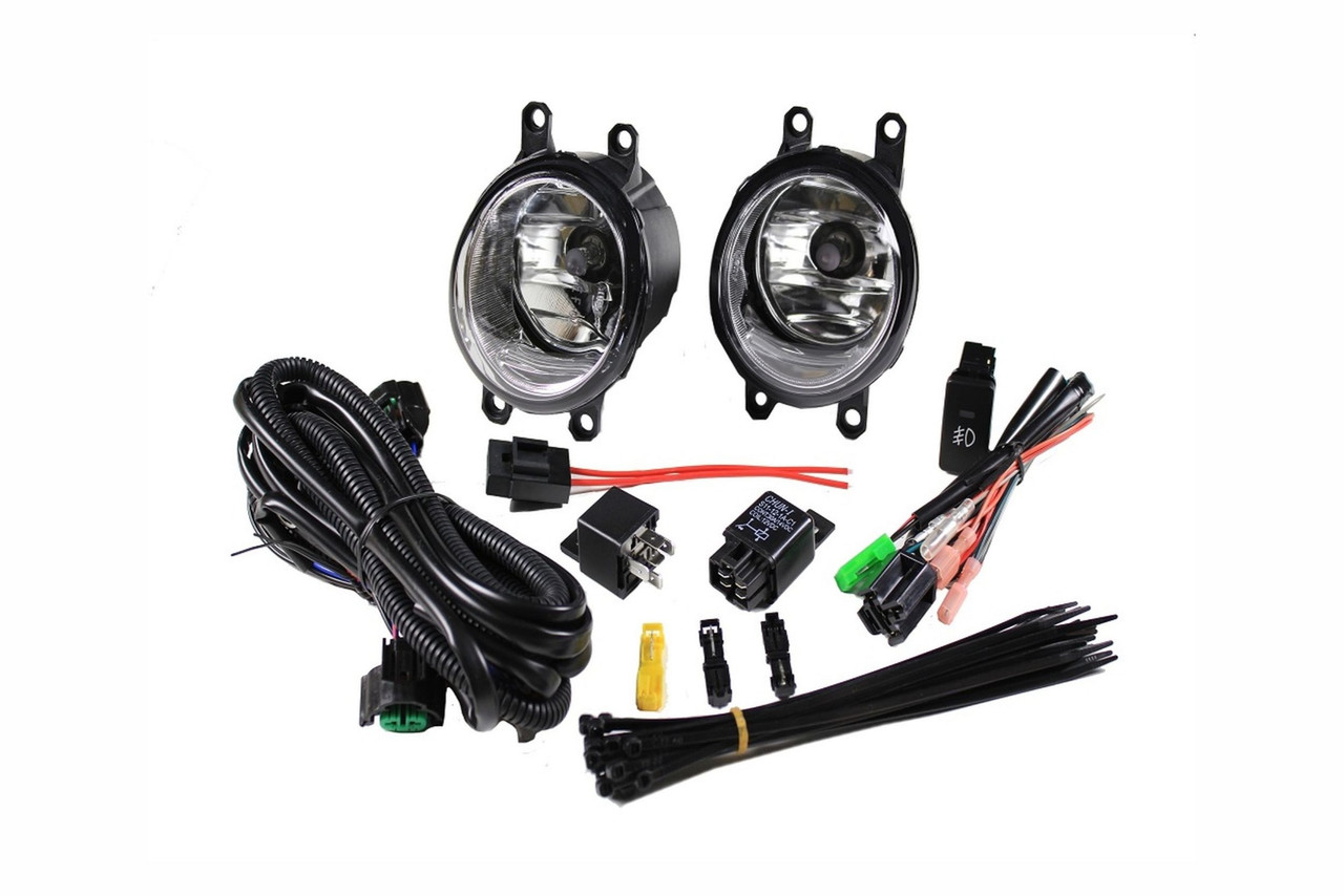 2012 - 2015 Toyota Tacoma Halogen Fog Light Kit  F Oem Fog Light Wiring Harness on