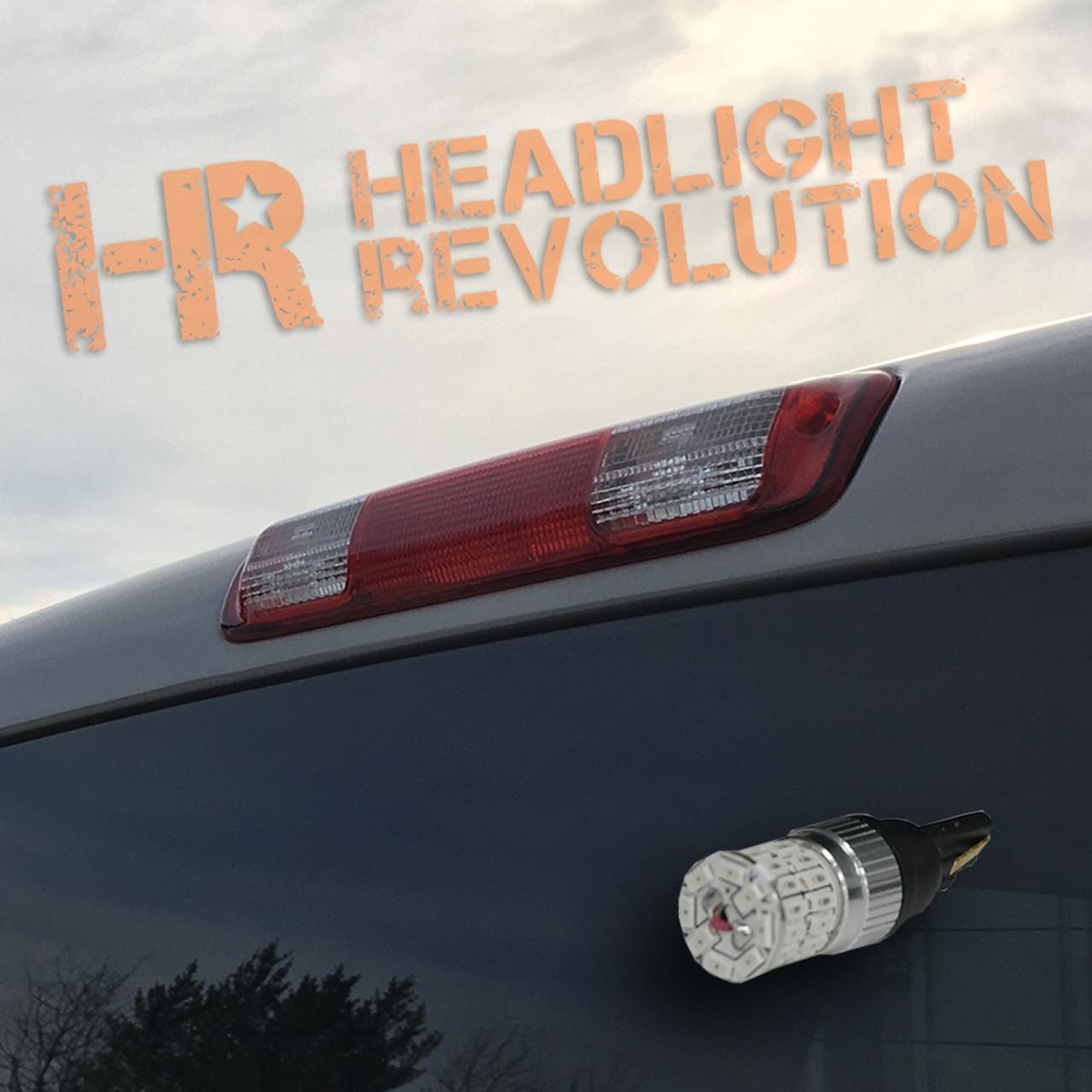 1999 2006 Gmc Sierra Led 3rd Brake Light Bulb Upgrade Headlight Revolution