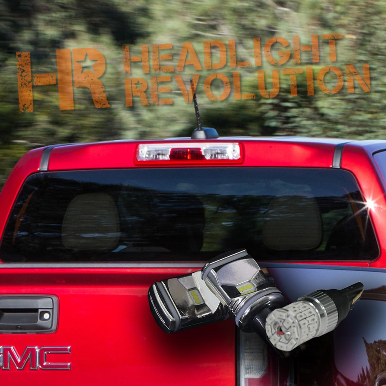 2015 2018 Gmc Canyon Canyon Denali Led Cargo And 3rd Brake Light Kit Headlight Revolution