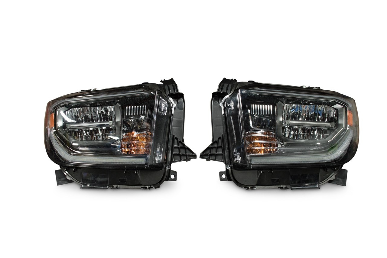 2014 Tundra Headlight Wiring Diagram Auto Basic Bi 2018 Toyota Oem Led Housing Pairtundra Headlights