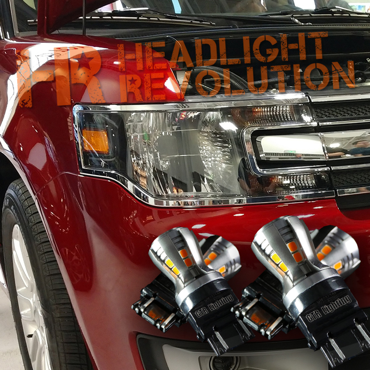 Ford Flex Sale: 2018 Ford Flex Front Turn Signal's LED Upgrade Kit