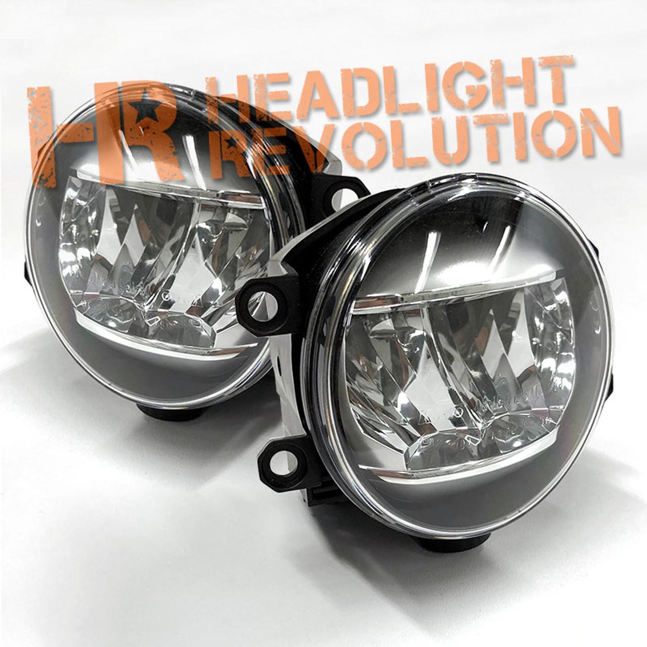 2014 - 2018 Toyota Tundra OEM LED Fog Light light Housing - Pair  F Oem Fog Light Wiring Harness on