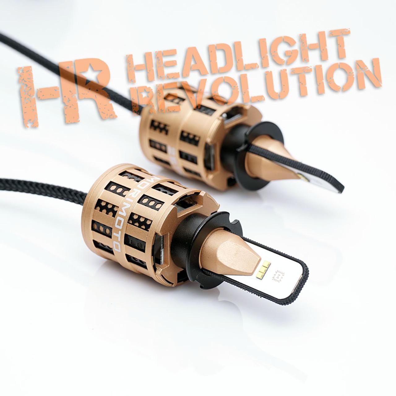 Morimoto H3: 2Stroke 2 0 LED Headlight Bulbs