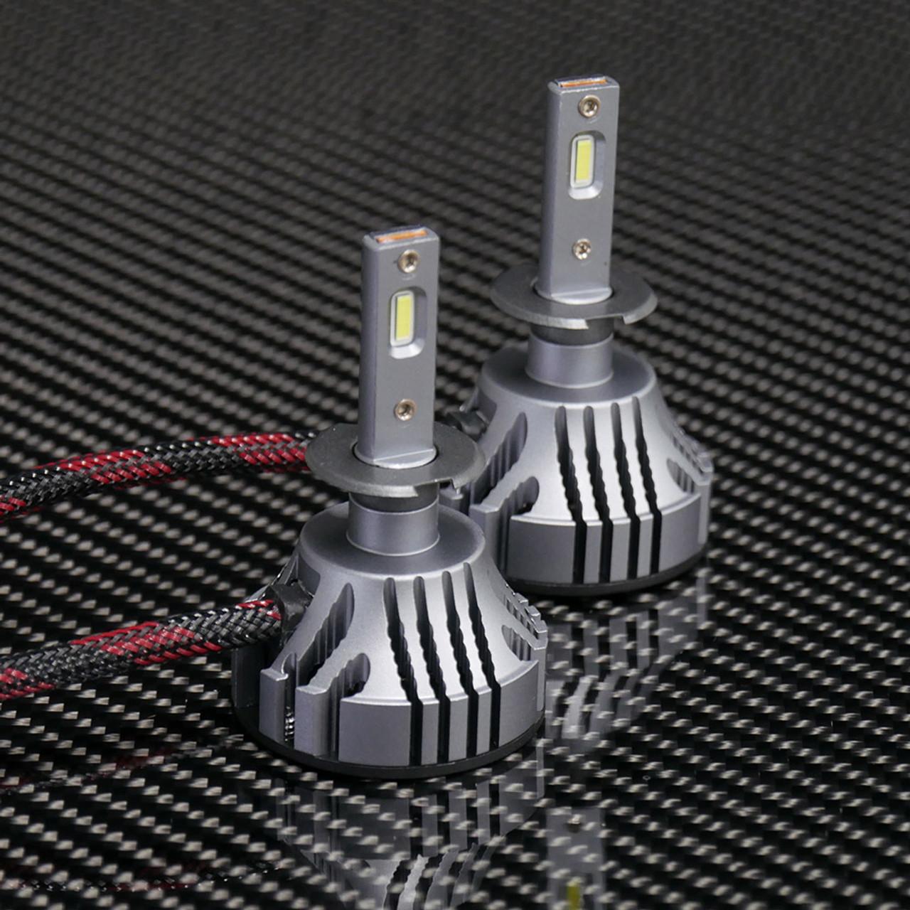 V 4 LED Headlights, H3 Bulbs
