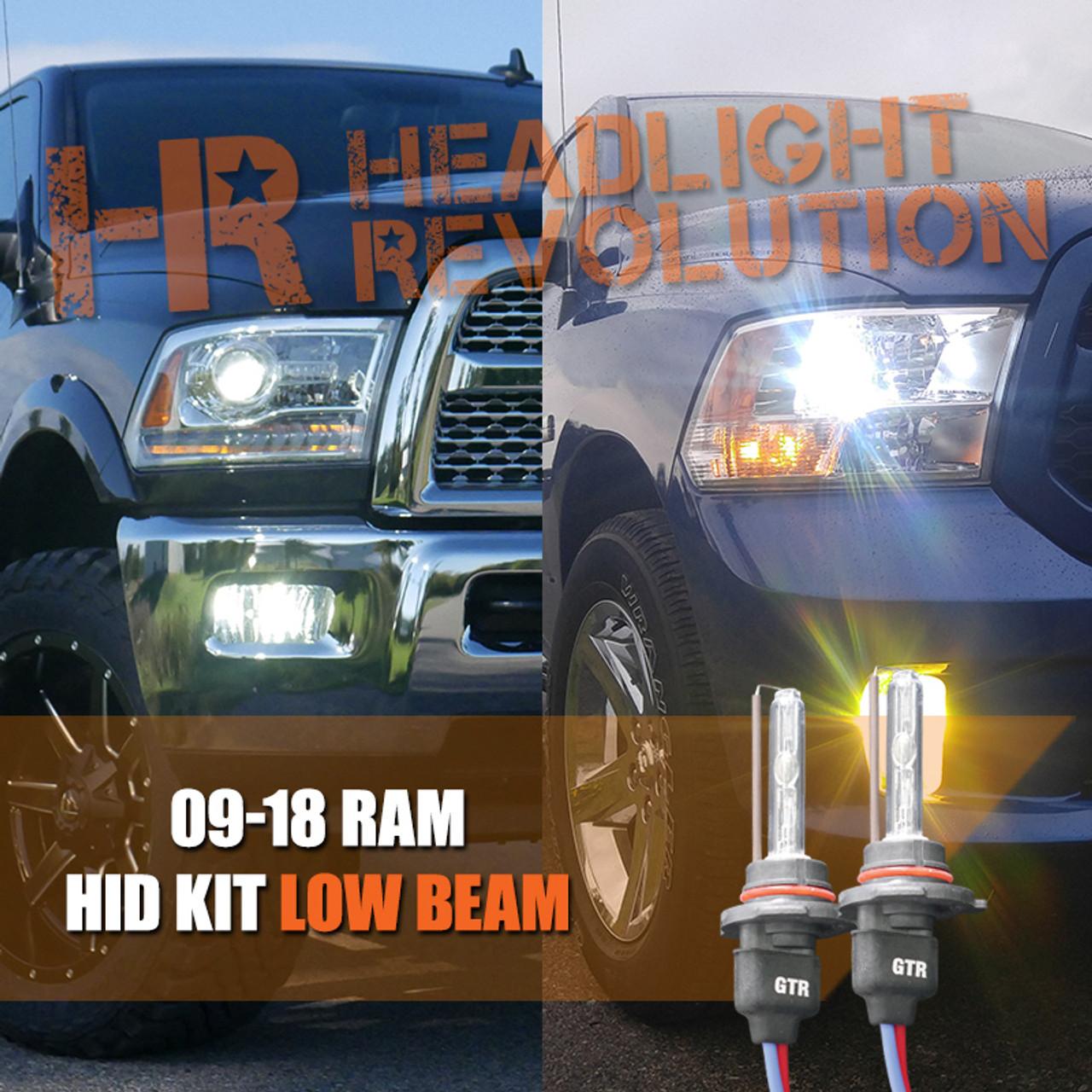 2009 2018 Dodge Ram Hid Headlights Upgrade Headlight Revolution