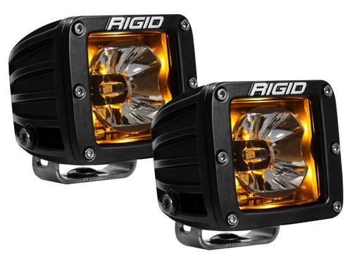 Rigid Industries Radiance Pod Amber Backlight