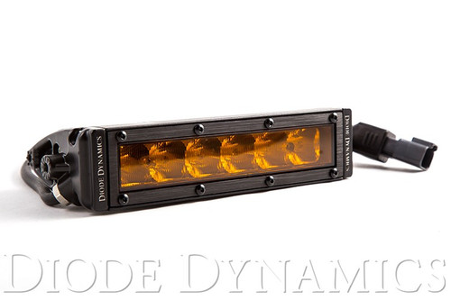 """Diode Dynamics SS6 Stage Series 6"""" Light Bar Driving Pattern - Amber LED"""