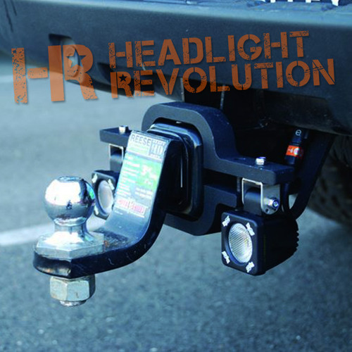 Vision X SOLSTICE SOLO TRAILER HITCH WITH 2 S1101 LIGHTS