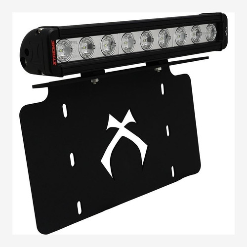 "Vision X LICENSE PLATE BRACKET WITH 12"" LOW PROFILE XTREME LIGHT BAR"
