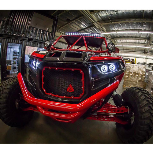 Vision X LED Polaris RZR Factory Headlight Upgrade Kit