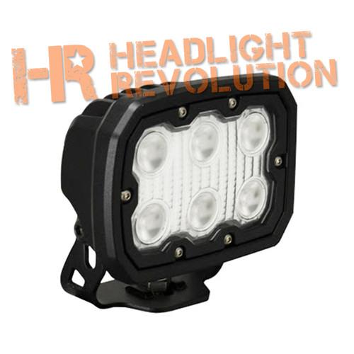 Vision X DURALUX WORK LIGHT 6 LED 10 DEGREE