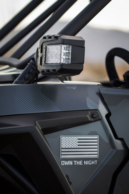 Rigid Industries Reflect  - ATV / UTV Mirror With LED