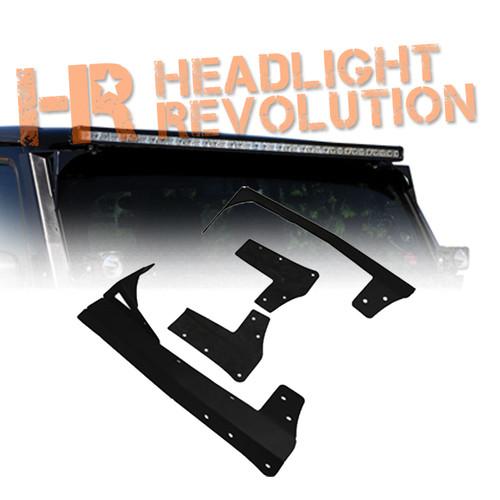 Vision X 07 -13 JEEP JK WINDSHEILD LIGHT MOUNT SYSTEM