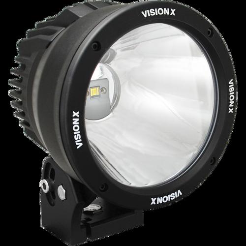 "Vision X 6.7"" CANNON BLACK 1 50W LED 10 Degree NARROW"