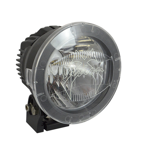 """Vision X 4.72"""" CANNON LIGHT POLYCARBONATE FLOOD COVER CLEAR"""