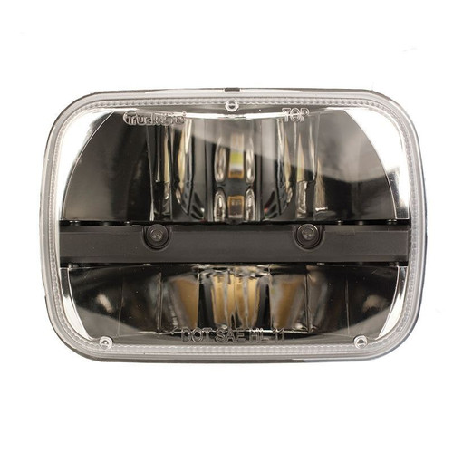 "Truck-Lite 27450C 5x7"" Rectangular LED Reflector Headlight Housing"