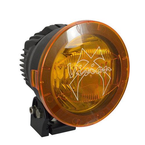 Vision X 4.5 CANNON PCV YELLOW COVER WIDE FLOOD BEAM