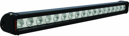 """Vision X 24"""" XMITTER LOW PROFILE XTREME BLACK 18 5W LED'S 40° WIDE"""