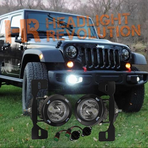 Vision X 13-15 JEEP JK X FOG LIGHT KIT WITH XIL-OPR110