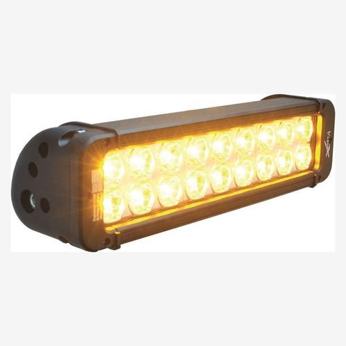 "Vision X 11"" XMITTER PRIME AMBER LED BAR BLACK 18 5W LED'S 10° NARROW"