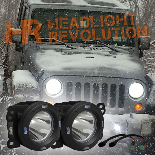 Vision X 10-12 JEEP JK FOG LIGHT KIT WITH XIL-OPR110