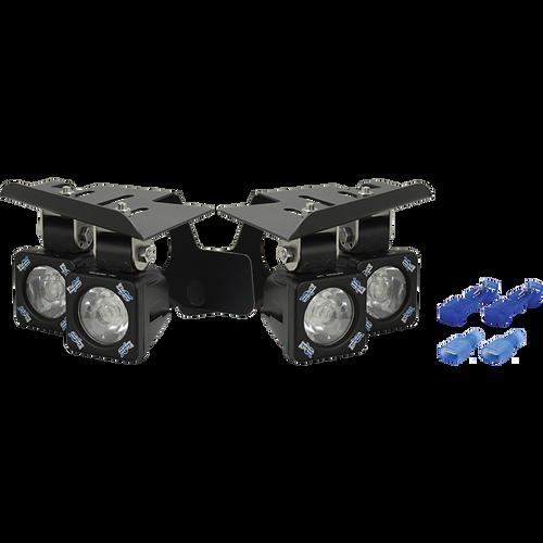 Vision X 07-11 CHEVY SILVERADO FOG LIGHT KIT WITH XIL-S1100