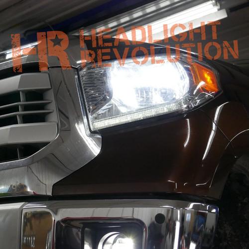2014 - 2019 Toyota Tundra LED Front Parking Light Bulb Upgrade