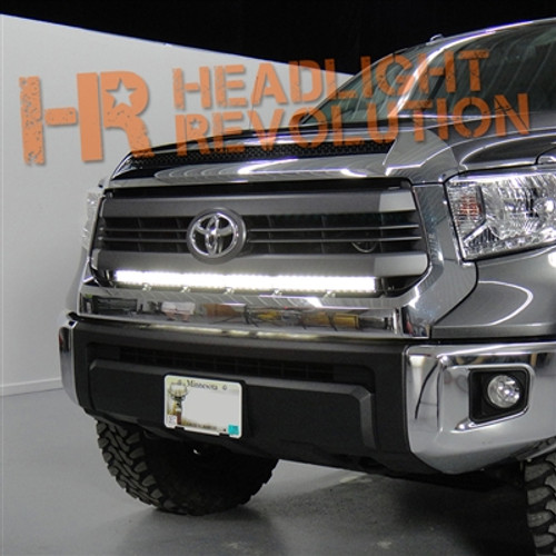 2014 - 2017 Toyota Tundra Stealth Mount LED Light Bar - Behind Grille