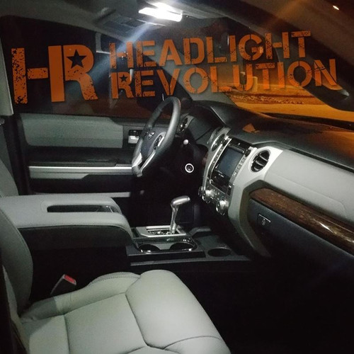 2014 - 2019 Toyota Tundra LED Interior Bulb Upgrade Kit