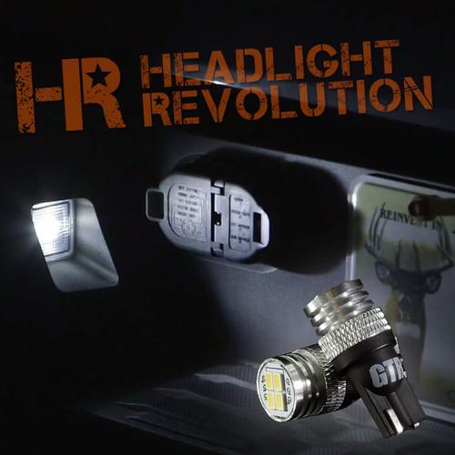 2007 - 2019 Toyota Tundra LED License Plate Lights Upgrade