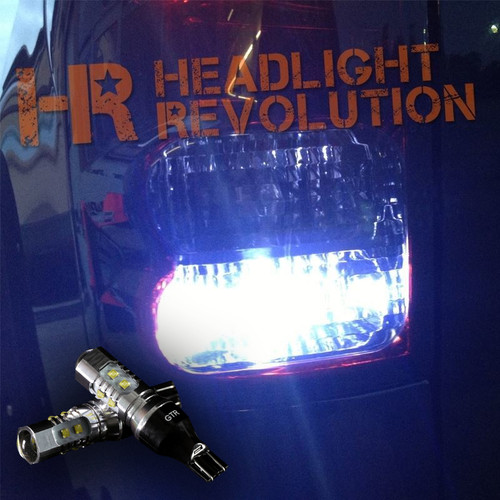 2007 - 2013 Toyota Tundra LED Reverse Light Bulbs Upgrade