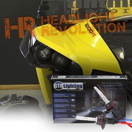 CAN-AM Maverick Projector HID Headlight Conversion Kit - HIGH BEAM