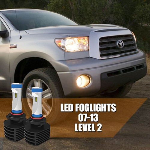 2007 - 2013 Toyota Tundra FOG LIGHT LED Bulbs Upgrade - LEVEL 2 Ultra Series