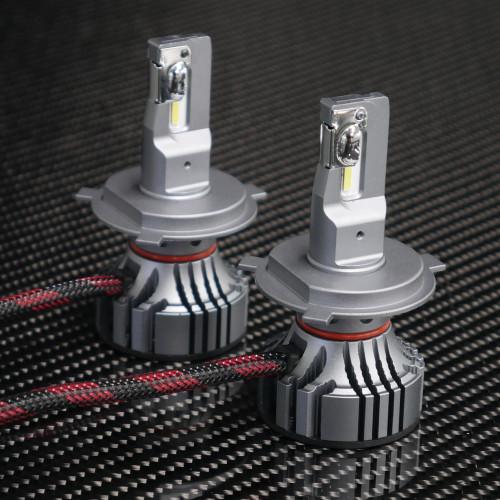 Supernova V.4 LED headlight bulbs, H4 bulb style