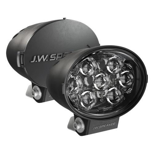 "JW Speaker Model TS3001V Pencil Beam LED 7""x5"" Oval Auxiliary Lights, 2 Light Kit"