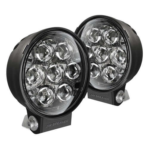 "JW Speaker Model TS3001R Pencil Beam LED 6"" Auxiliary Lights, 2 Light Kit"