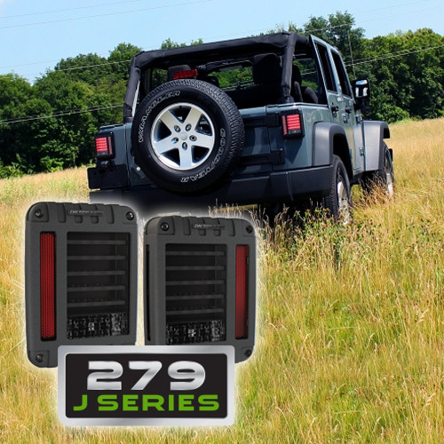 JW Speaker Model MODEL 279J JEEP DOT LED TAIL LIGHT KIT (2 Lights)