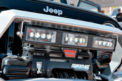 "JW Speaker Model 9049-3M, Rectangular 3-Module 21"" LED Fog Light Bar"