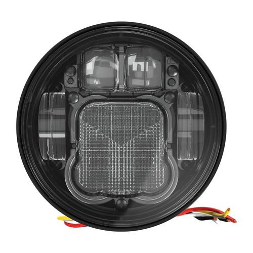 """JW Speaker Model 6130 Evolution 4.75"""" Round LED Low Beam Only Headlight"""