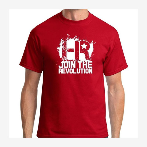 Headlight Revolution T-Shirt Red and White