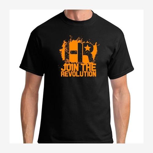Headlight Revolution T-Shirt Black and Orange