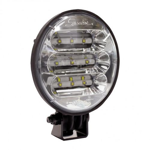 JW Speaker Model 6020F-12-24V LED WL Flood M12