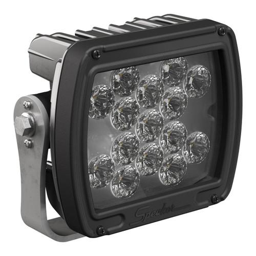 JW Speaker JW Speaker Model 526 12-24V LED Work Light with Black Housing, Polycarbonate Lens & Flood Beam Pattern