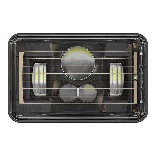 """JW Speaker 8800 Evolution-2 LED 4x6"""" Low Beam Headlight Heated - Black"""