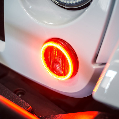 Oracle Jeep Wrangler 2007-2015 ORACLE Amber LED Waterproof Turn Signal Halo Kit