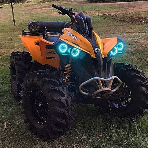 Oracle Can-Am Renegade 2007-2014 ORACLE LED Halo Kit Amber