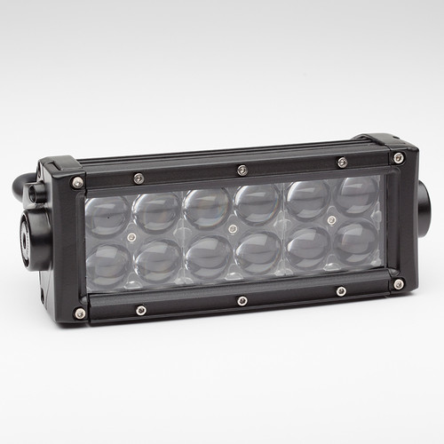"HR 60w 8"" Dual Row Projector LED Light Bar"