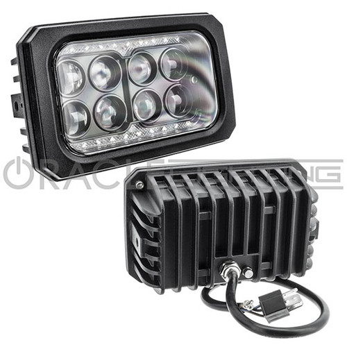"ORACLE 4x6"" 40W Replacement LED Headlight - Sealed Beam Style"