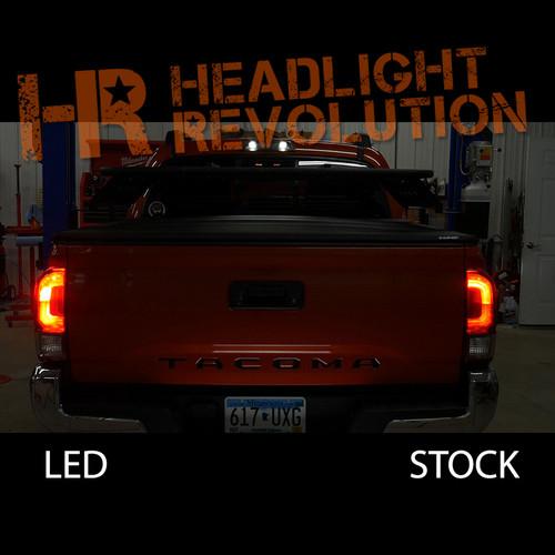 2016 - 2018 Toyota Tacoma LED Rear Brake Light Bulbs Kit