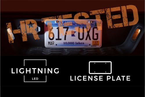 2016 - 2020 Toyota Tacoma LED License Plate Bulbs